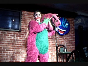 Barney Joker Ha Ha Cafe